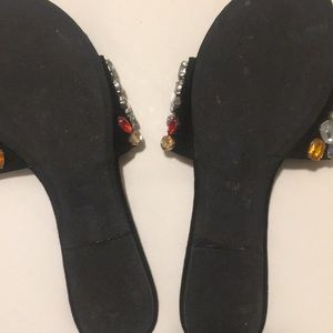 lust for life Shoes - Jewelled sandals - size 9 - excellent condition!